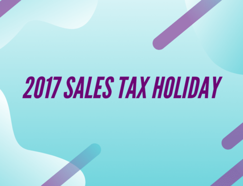 2017 Sales Tax Holiday