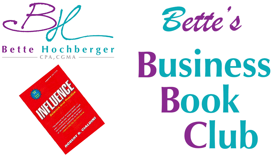 Bette's Business Book Club: Influence