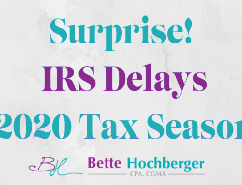 #TaxTipTuesday – IRS Delays 2020 Tax Season