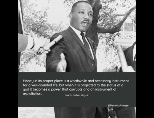 Dr. Martin Luther King on Money