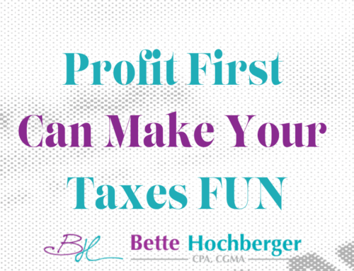 Profit First Makes Business Taxes Fun