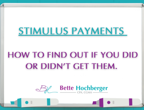 Stimulus Payments: How To Find Them