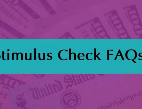 Stimulus Check FAQs