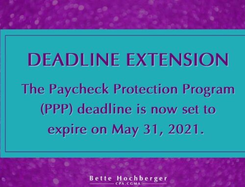 PPP Loan Extension