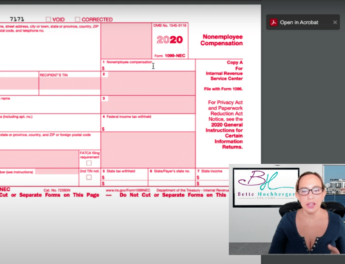 1099-NEC Forms – How to