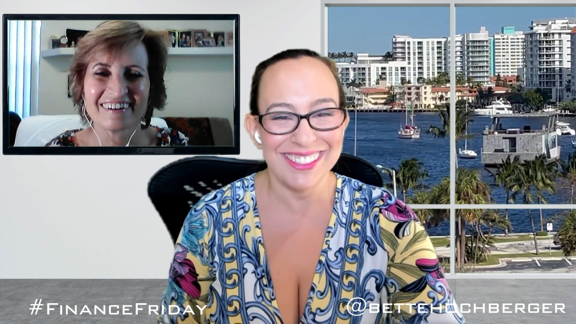 Business Networking Discussion with Bette and Karrie