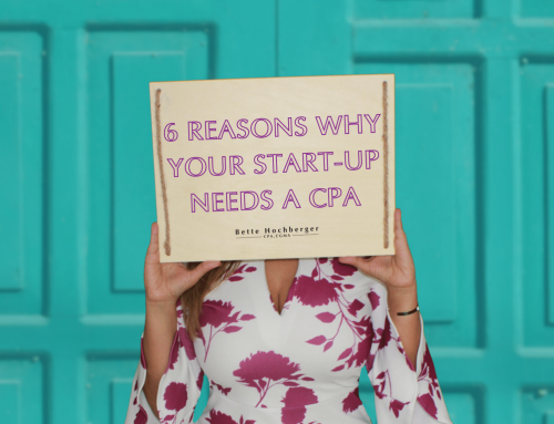 Your Start-Up Business Needs A CPA