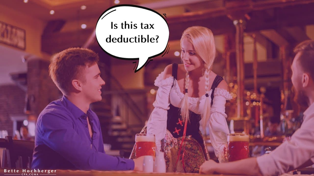 Is this tax-deductible?