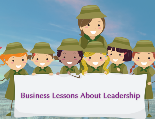 The Scouts Teach Business Lessons?